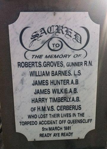 Cerberus Torpedo Incident Memorial : 29-August-2011