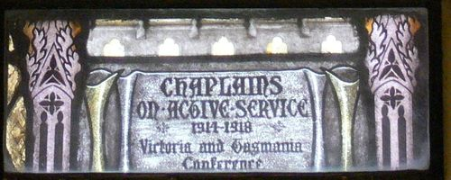 Chaplains on Active Service : 08-December-2011
