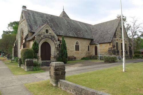 Christ Church Memorial Entrance : 09-04-2014