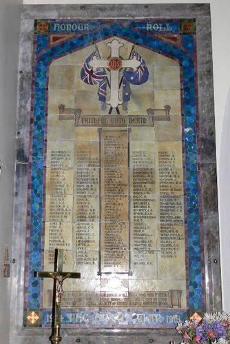 Christ Church Honour Roll : 20-December-2011