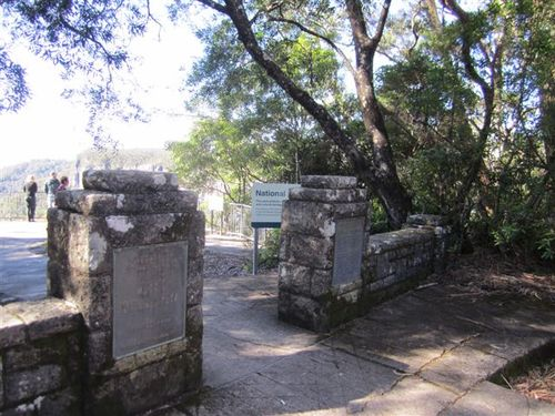 Clarence Trist Memorial Entrance : 02-07-2012