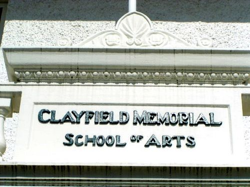 Clayfield Memorial School of Arts Closeup frieze