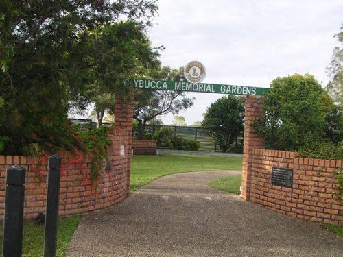 Clybucca Memorial Garden Entrance
