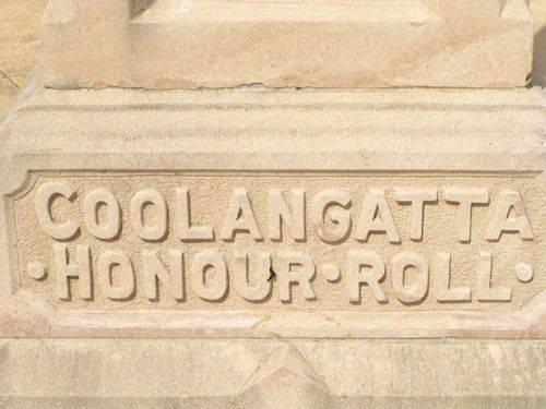 Coolangatta Honour Roll Insc / March 2013