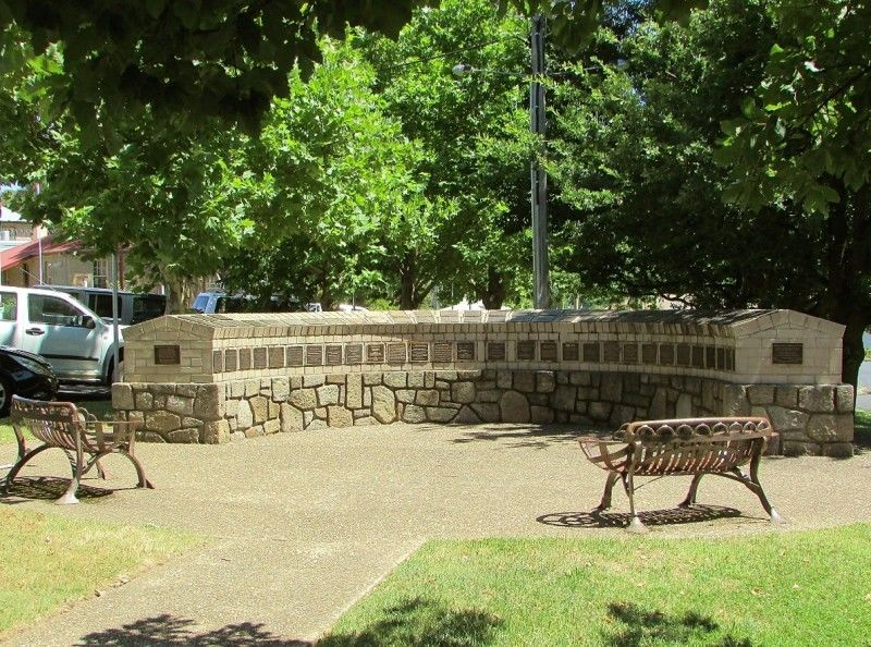Cooma - Monaro Commemorative Wall | Monument Australia