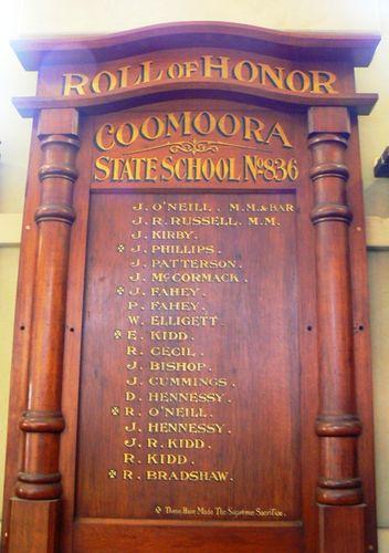 Coomoora State School Honour Roll : 06-October-2012