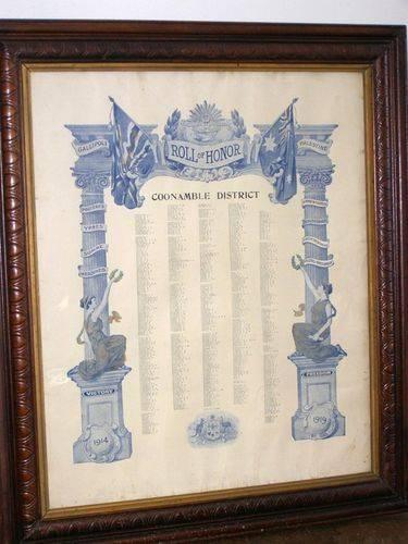 Coonamble District Honour Roll : 01-August-2014