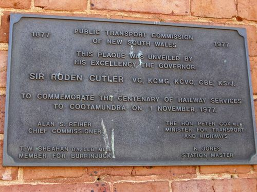Railway Centenary Plaque : 03-January-2009