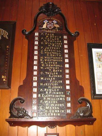 Cootharaba Honour Roll : 12-08-2009