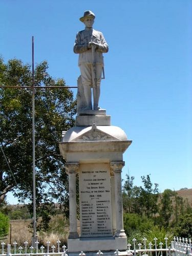 Cooyar War Memorial Digger