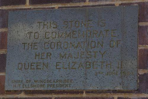 Coronation Plaque : August-2014