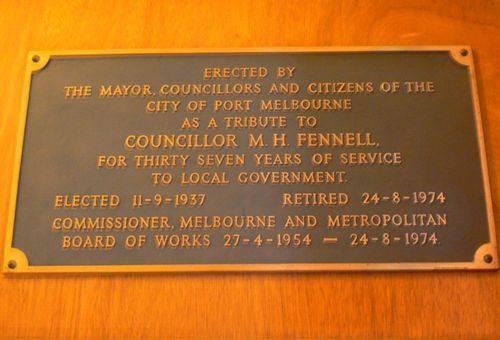 Councillor M. H. Fennell