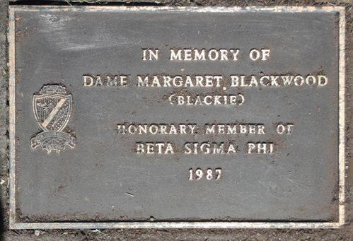 Dame Margaret Blackwood : 07-December-2011
