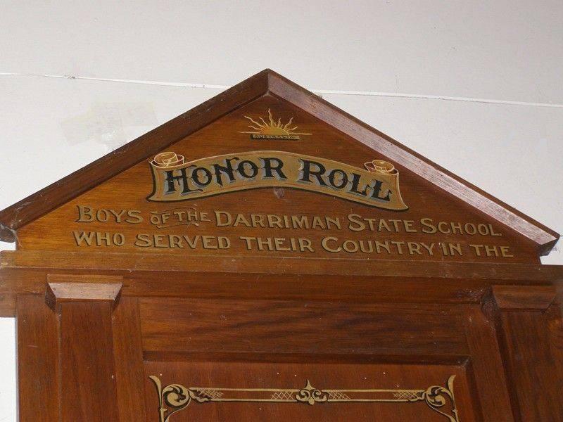 Honour Roll Closeup: 31-October-2014