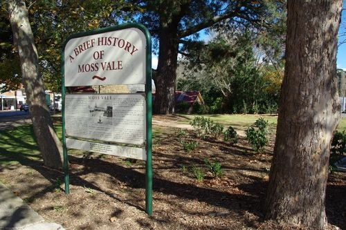 Moss Vale History Sign : August-2014