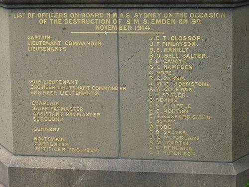 "Destruction of the German Raider ""Emden"" : 26-September-2012"