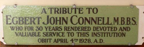 Doctor Egbert John Connell : 08-July-2011