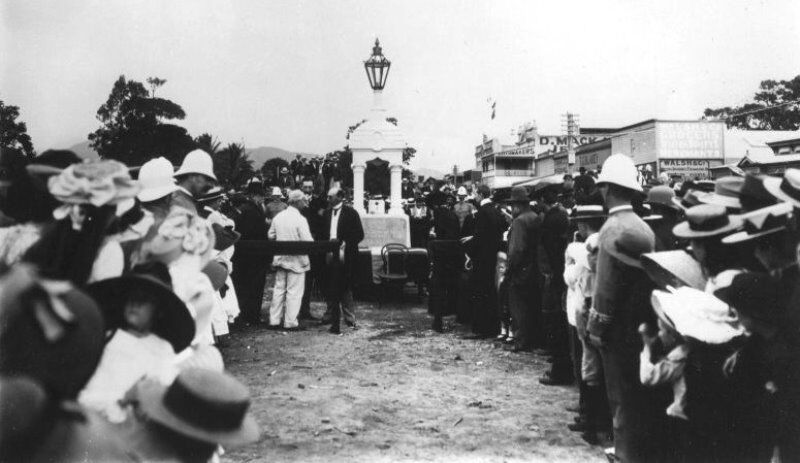 13-June-1903 : Unveiling (State Library of Queensland)