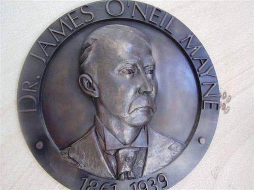 James Mayne Portrait Plaque : 04-08-2013