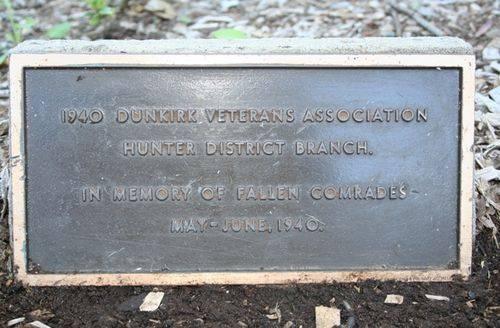 Dunkirk Veterans Plaque : 11-03-2014