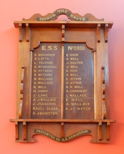 Earlston State School No. 2850 Honour Roll  : 29-March-2013