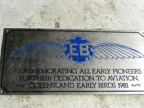 Early Birds Plaque
