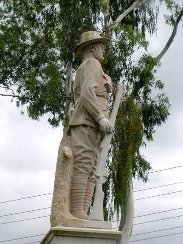 Ebbw Vale War Memorial  Digger