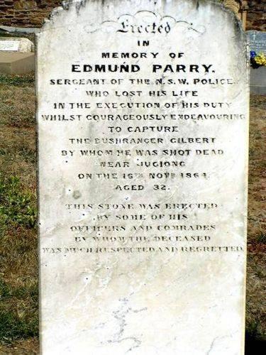 Edmund Parry Tombstone