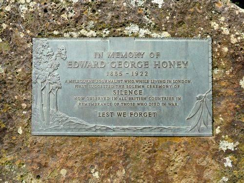 Edward George Honey : 14-September-2011