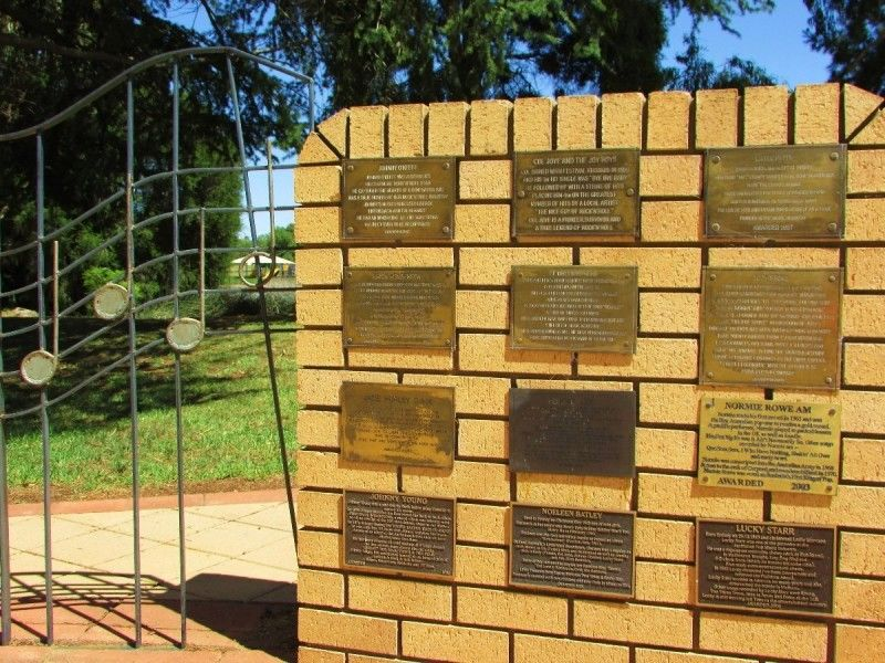 Wall of Fame Plaques 2: 10-January-2016