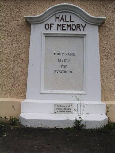 Enoggerra Memorial Hall Plaque