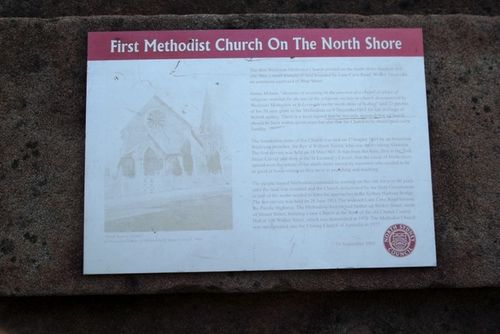 First Church Historical Plaque : May 2014