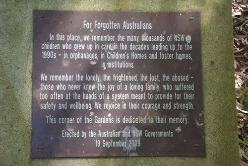 Forgotten Australians : 15-March-2013