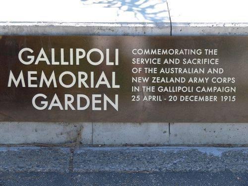 Gallipoli Memorial Garden : 06-December-2011