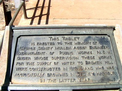 George Mullen Memorial Inscription