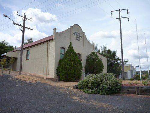 Geurie Memorial Hall : 07-April-2013