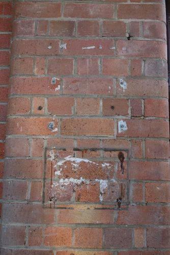 Gosford Line Centenary Missing Plaque : 12-03-2014