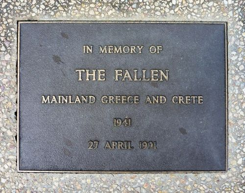 Greece & Crete Fallen : 2-April-2011