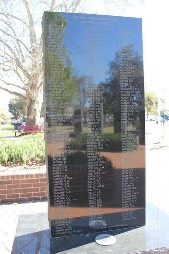 Griffith Cenotaph : 06-December-2012
