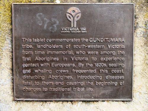 Gunditjamara Tribe Memorial : 24-August-2012