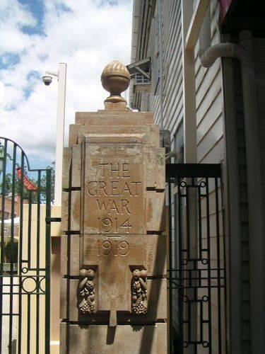 Gympie Gates Far Right Pillar