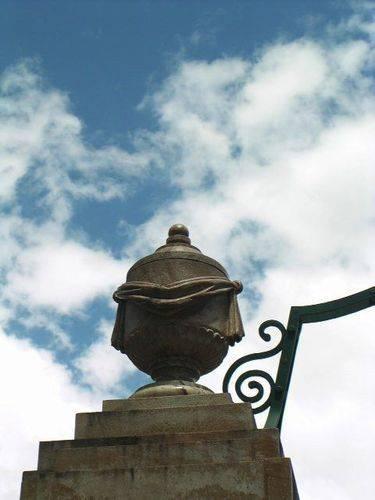 Gympie Gates Pillar Detail