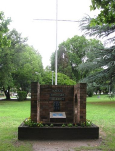 HMAS Armidale Memorial : 25-January-2011