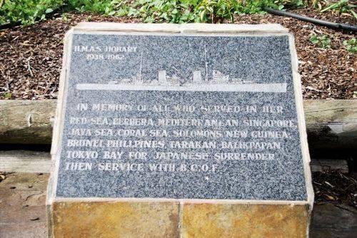 HMAS Shropshire Memorial Park : 21-November-2011