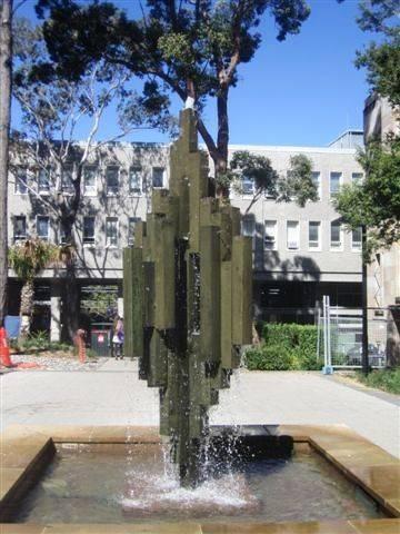 Hancock Memorial Fountain : 04-08-2013