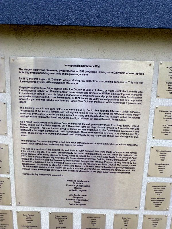 Remembrance Wall Plaque : 19-October-2014
