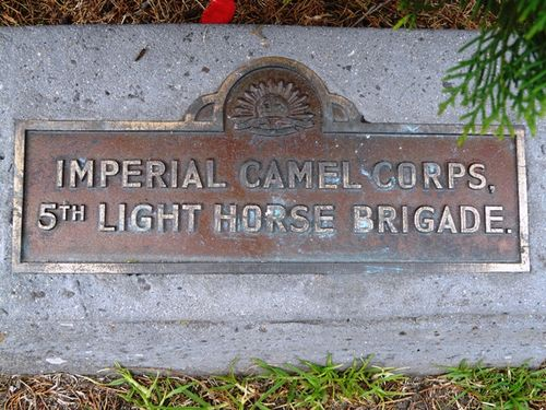 Imperial Camel Corps : 21-September-2011