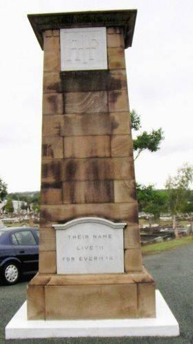 Ipswich Cemetery Cenotaph