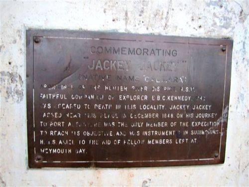 Jackey Jackey Inscription Plaque : 05-07-2012