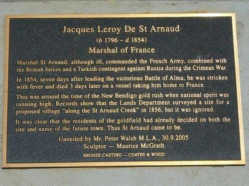 Jacques Leroy De St Arnaud